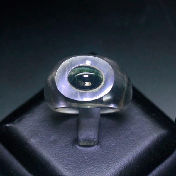画像1: ヒマラヤ水晶リング(ヴェルデライト)